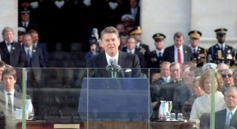Ronald Reagan's inaugural address 1981