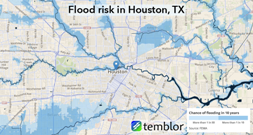 Houston-flood-map