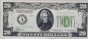 $20 Bank Note