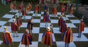 The human chessboard