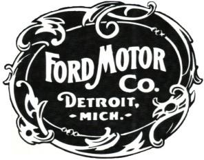 Ford Motor Co Logo 2